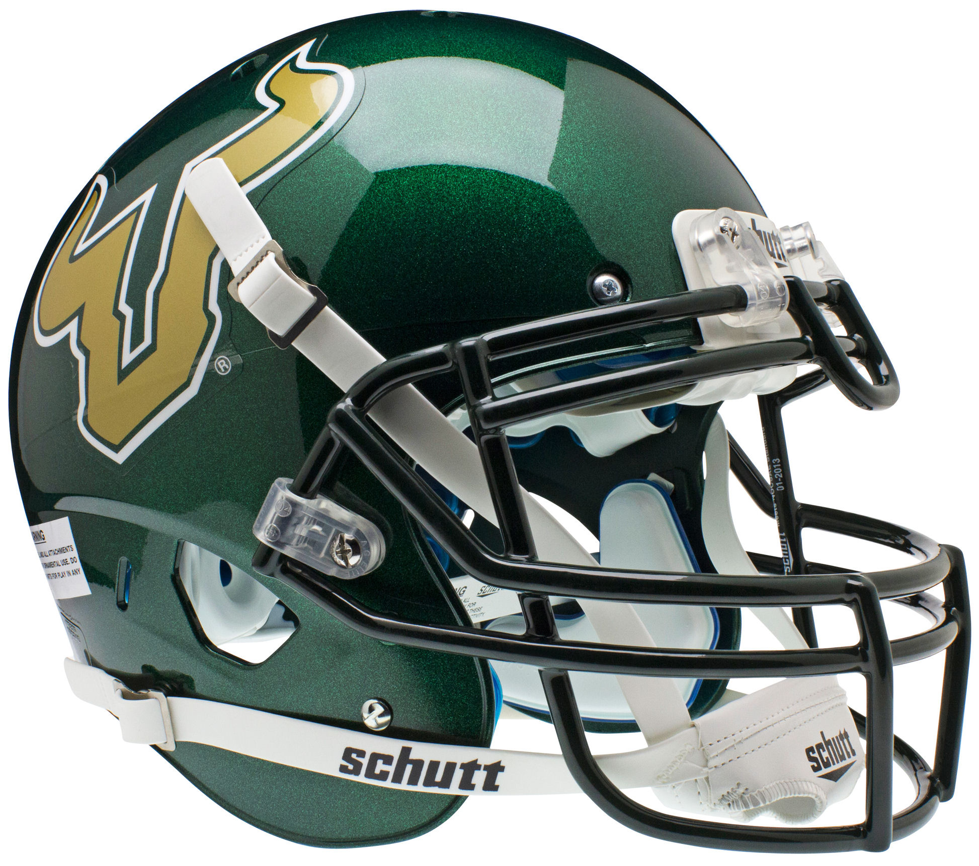 South Florida Bulls Authentic College XP Football Helmet Schutt <B>Green</B>
