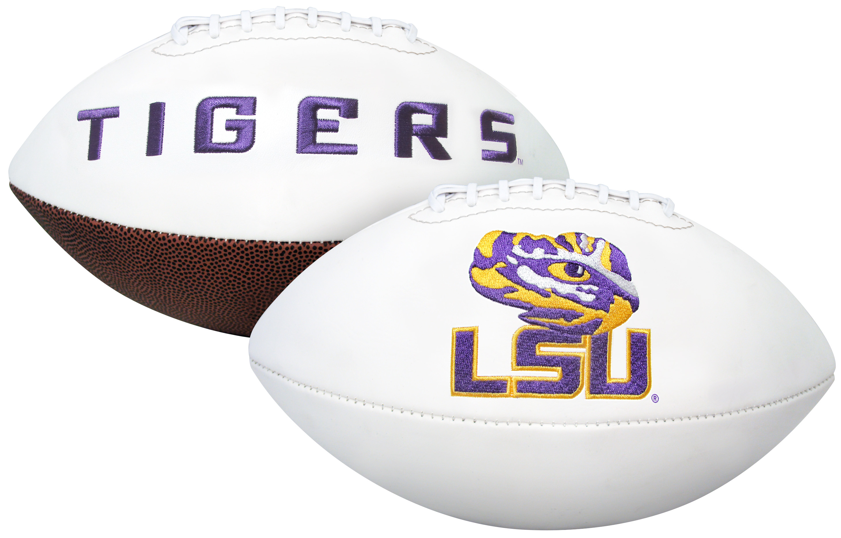 LSU Tigers NCAA Signature Series Full Size Football