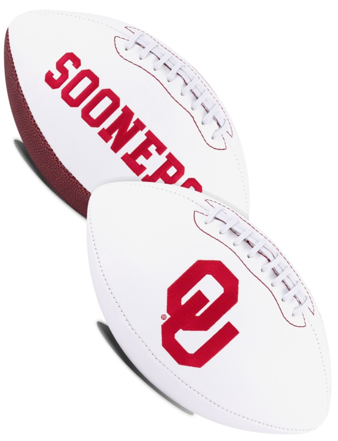 Oklahoma Sooners NCAA Signature Series Full Size Football