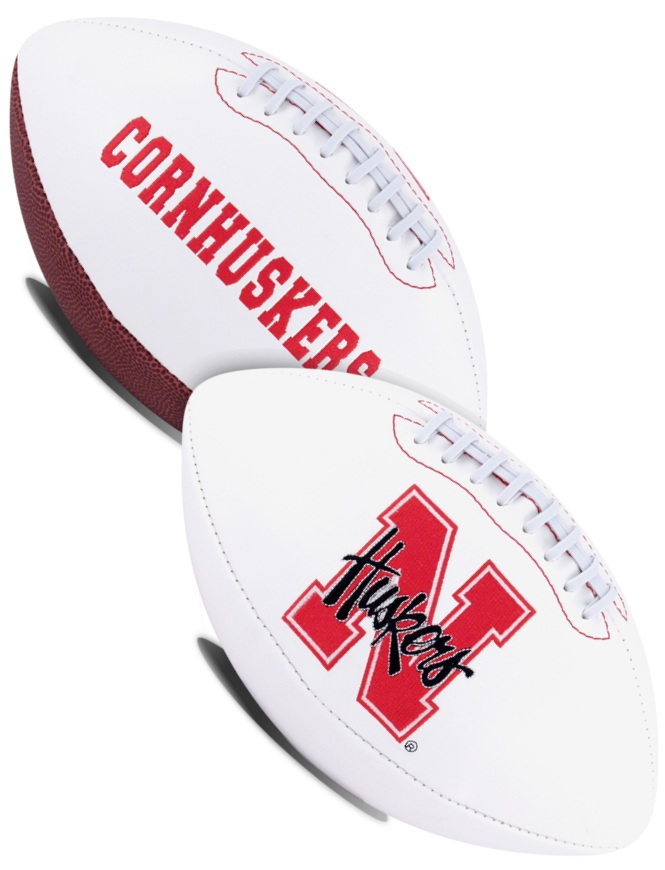 Nebraska Cornhuskers NCAA Signature Series Full Size Football