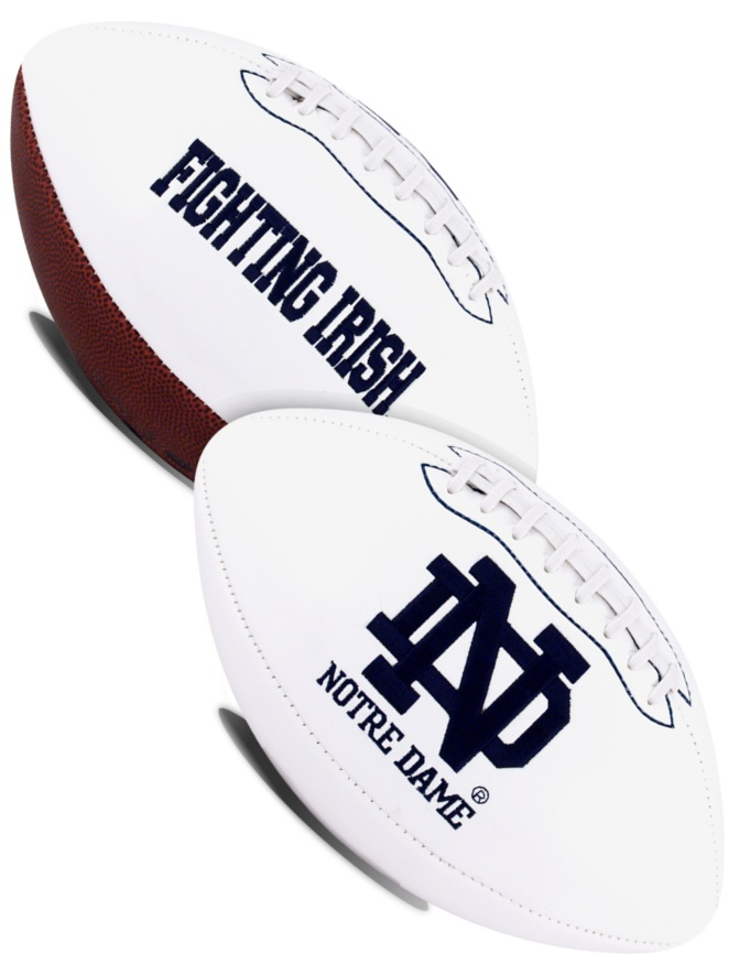 Notre Dame Fighting Irish NCAA Signature Series Full Size Football