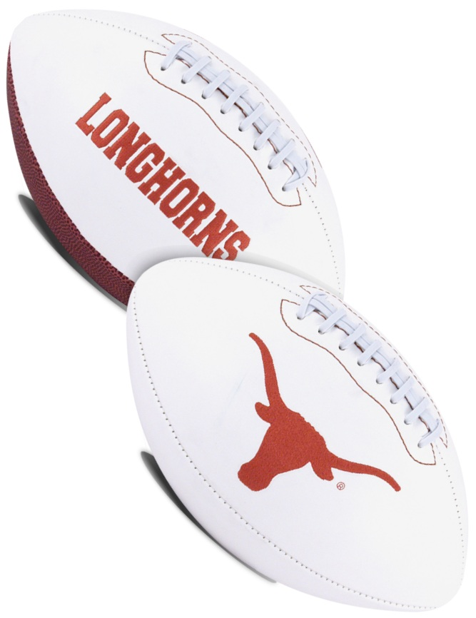 Texas Longhorns NCAA Signature Series Full Size Football