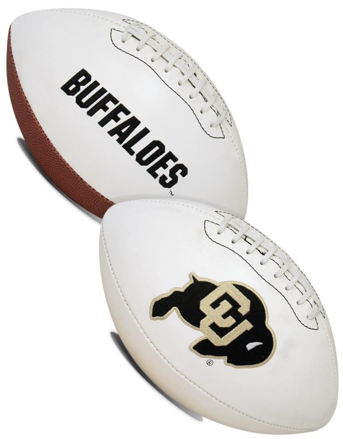 Colorado Buffaloes NCAA Signature Series Full Size Football