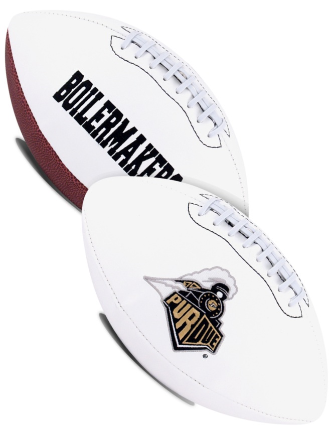 Purdue Boilermakers NCAA Signature Series Full Size Football