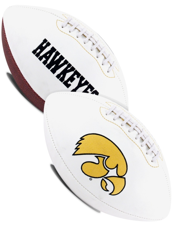 Iowa Hawkeyes NCAA Signature Series Full Size Football