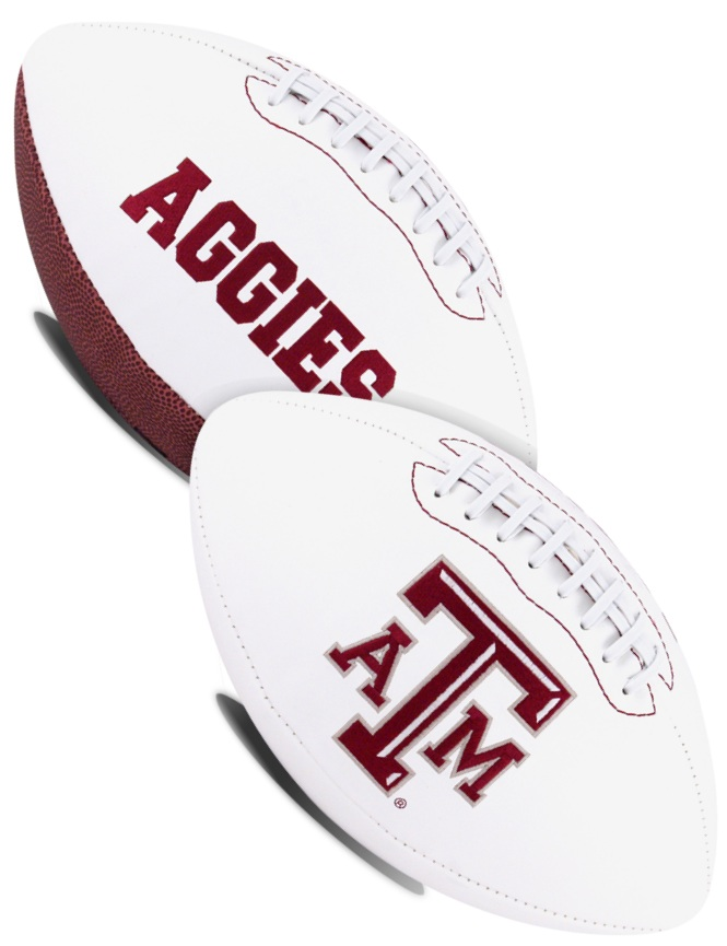 Texas A&M Aggies NCAA Signature Series Full Size Football