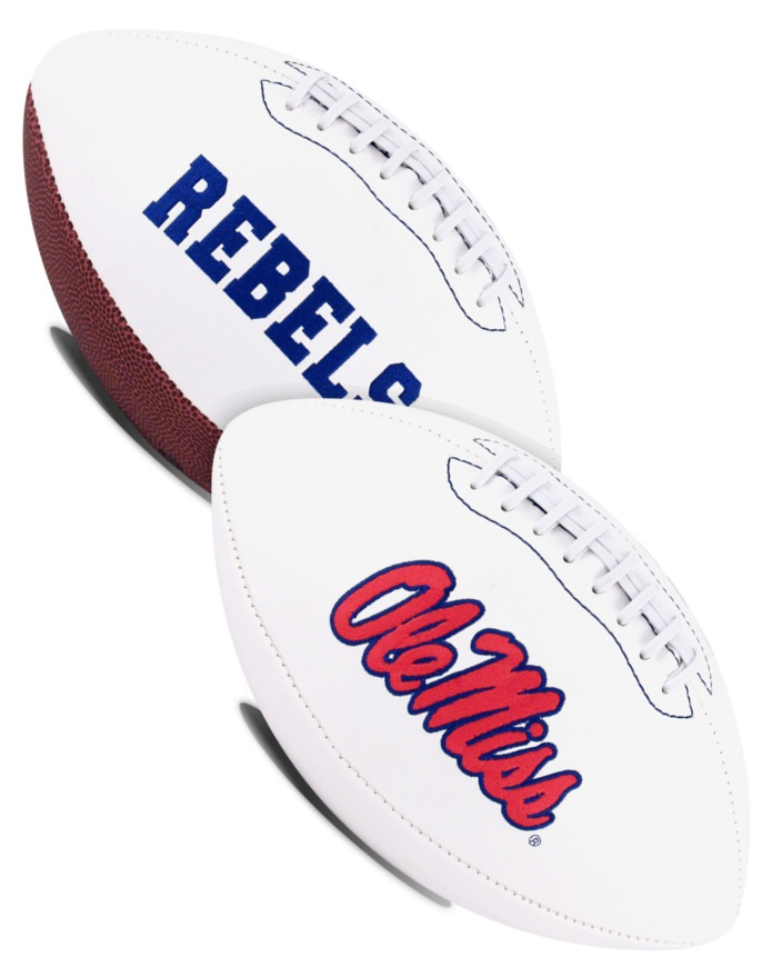 Mississippi (Ole Miss) Rebels NCAA Signature Series Full Size Football
