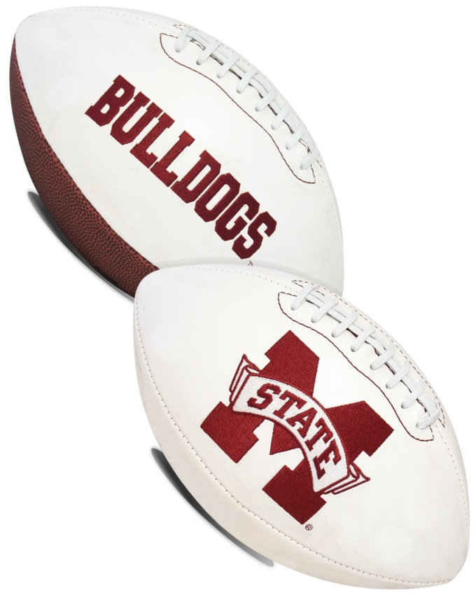 Mississippi State Bulldogs NCAA Signature Series Full Size Football