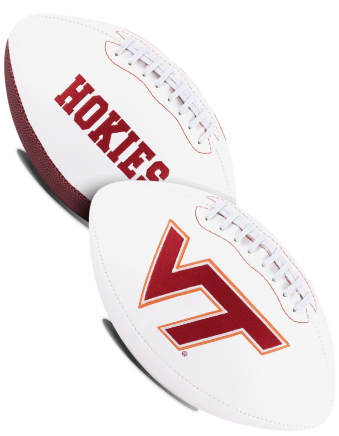 Virginia Tech Hokies NCAA Signature Series Full Size Football