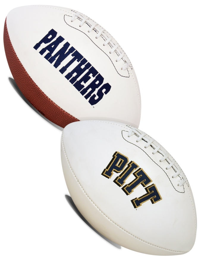 Pittsburgh Panthers NCAA Signature Series Full Size Football