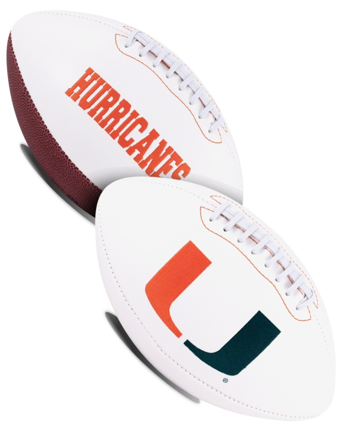 Miami Hurricanes NCAA Signature Series Full Size Football