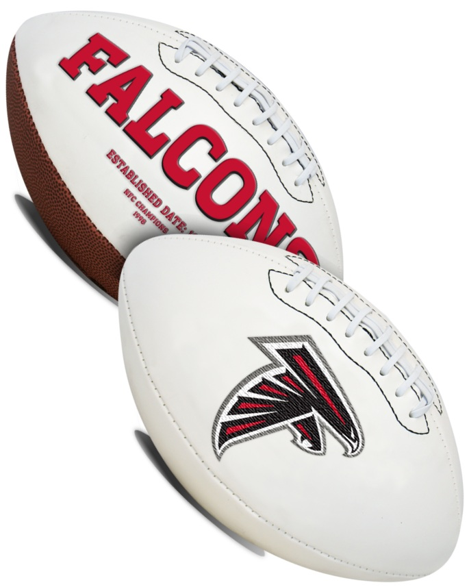 Atlanta Falcons NFL Signature Series Full Size Football