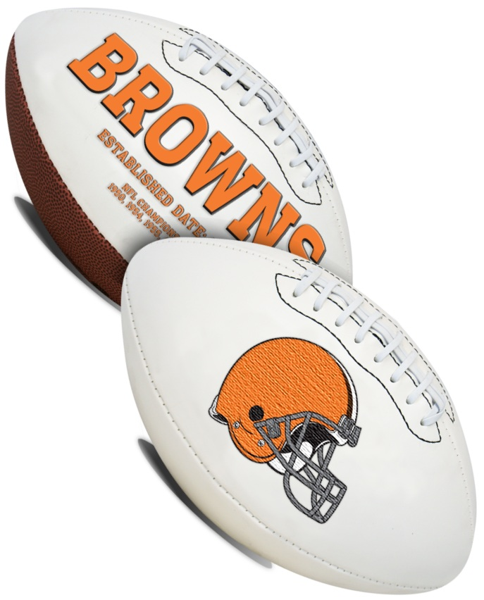 Cleveland Browns NFL Signature Series Full Size Football