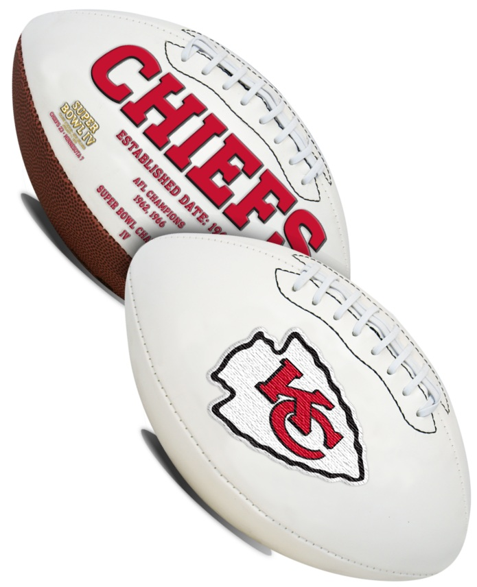 Kansas City Chiefs NFL Signature Series Full Size Football