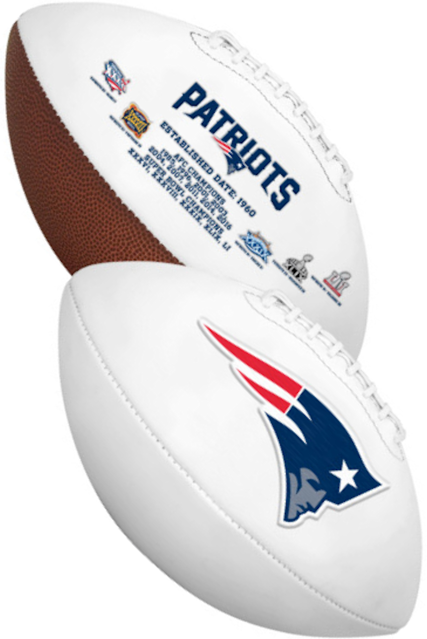 New England Patriots NFL Signature Series Full Size Football