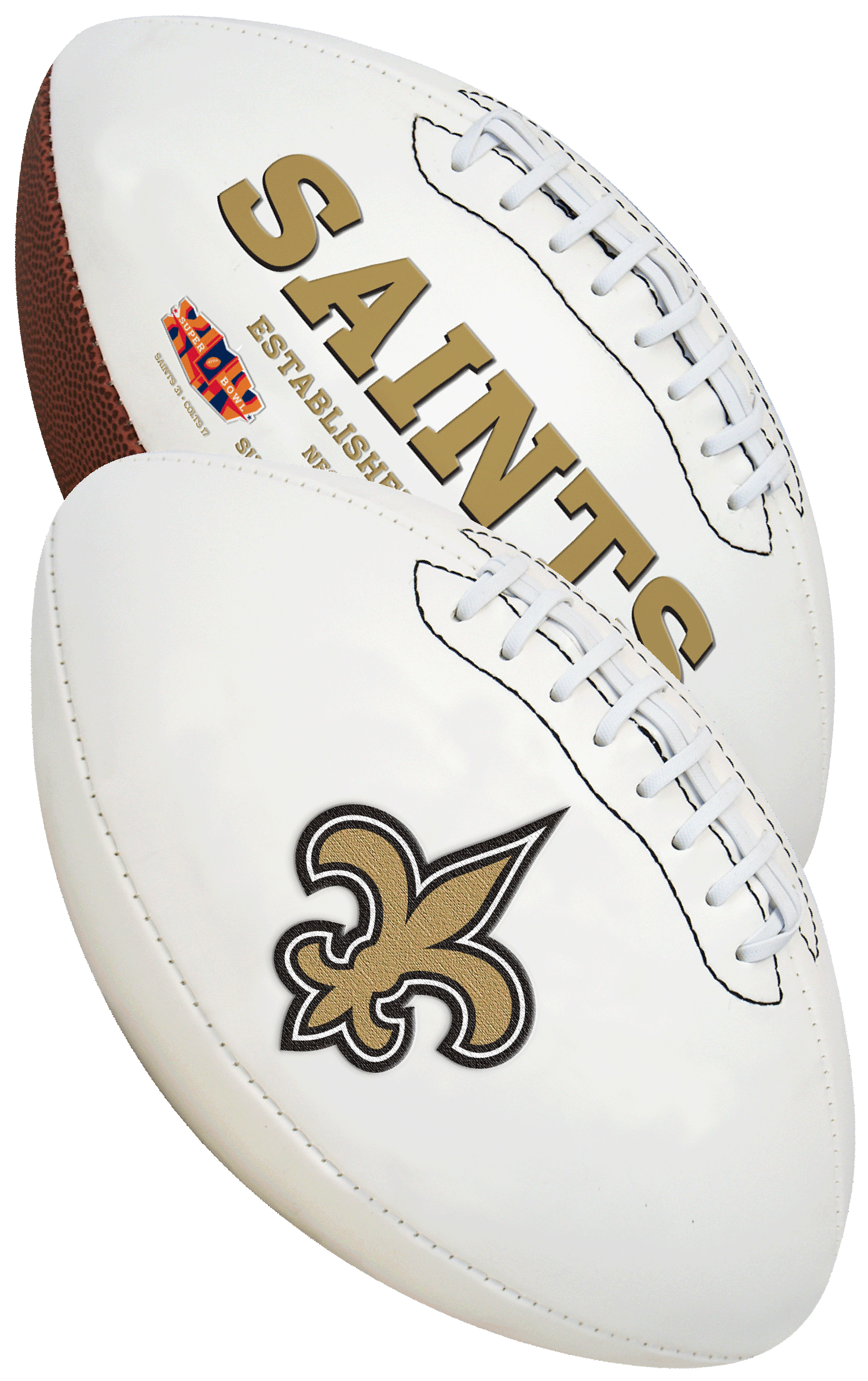 New Orleans Saints NFL Signature Series Full Size Football
