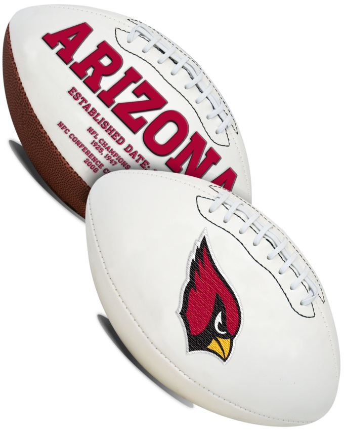 Arizona Cardinals NFL Signature Series Full Size Football