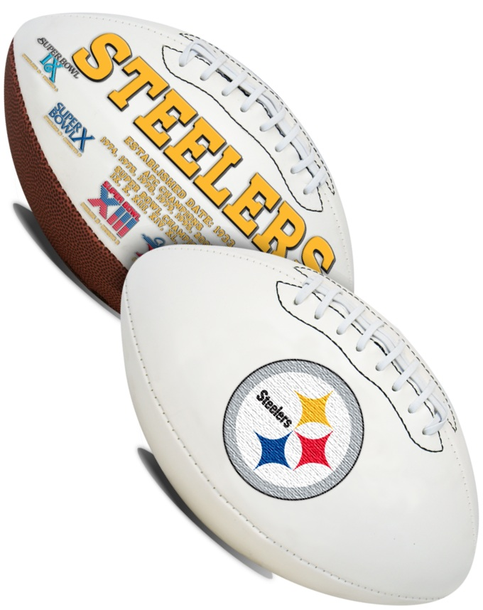 Pittsburgh Steelers NFL Signature Series Full Size Football