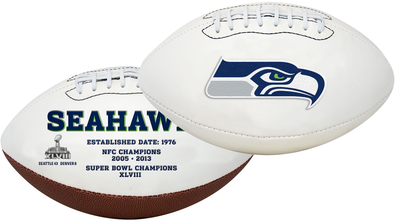 Seattle Seahawks NFL Signature Series Full Size Football