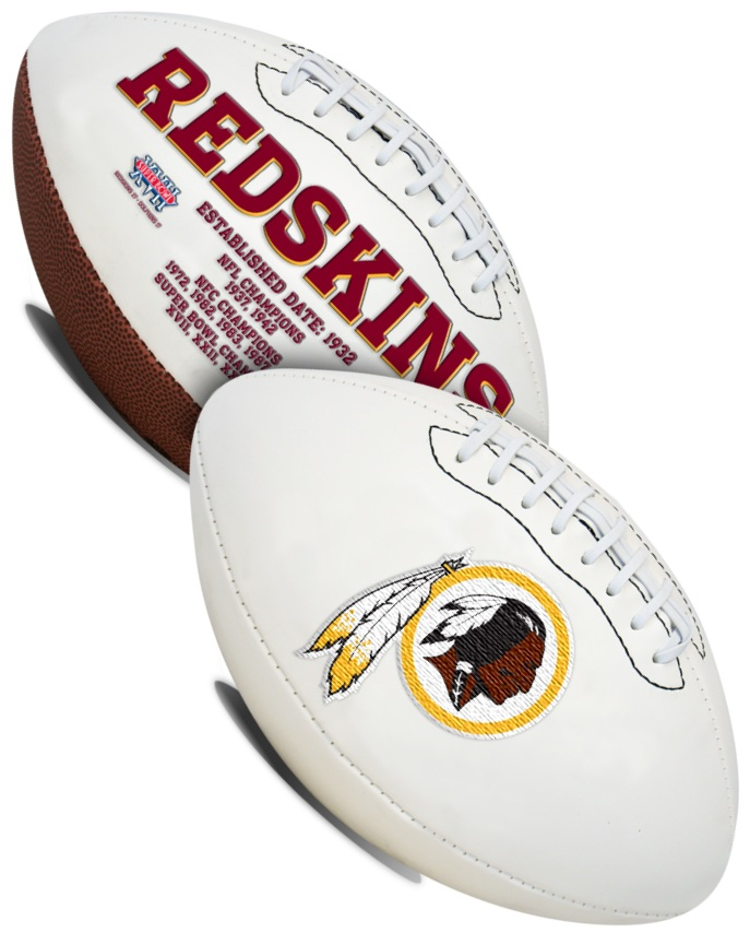 Washington Redskins NFL Signature Series Full Size Football
