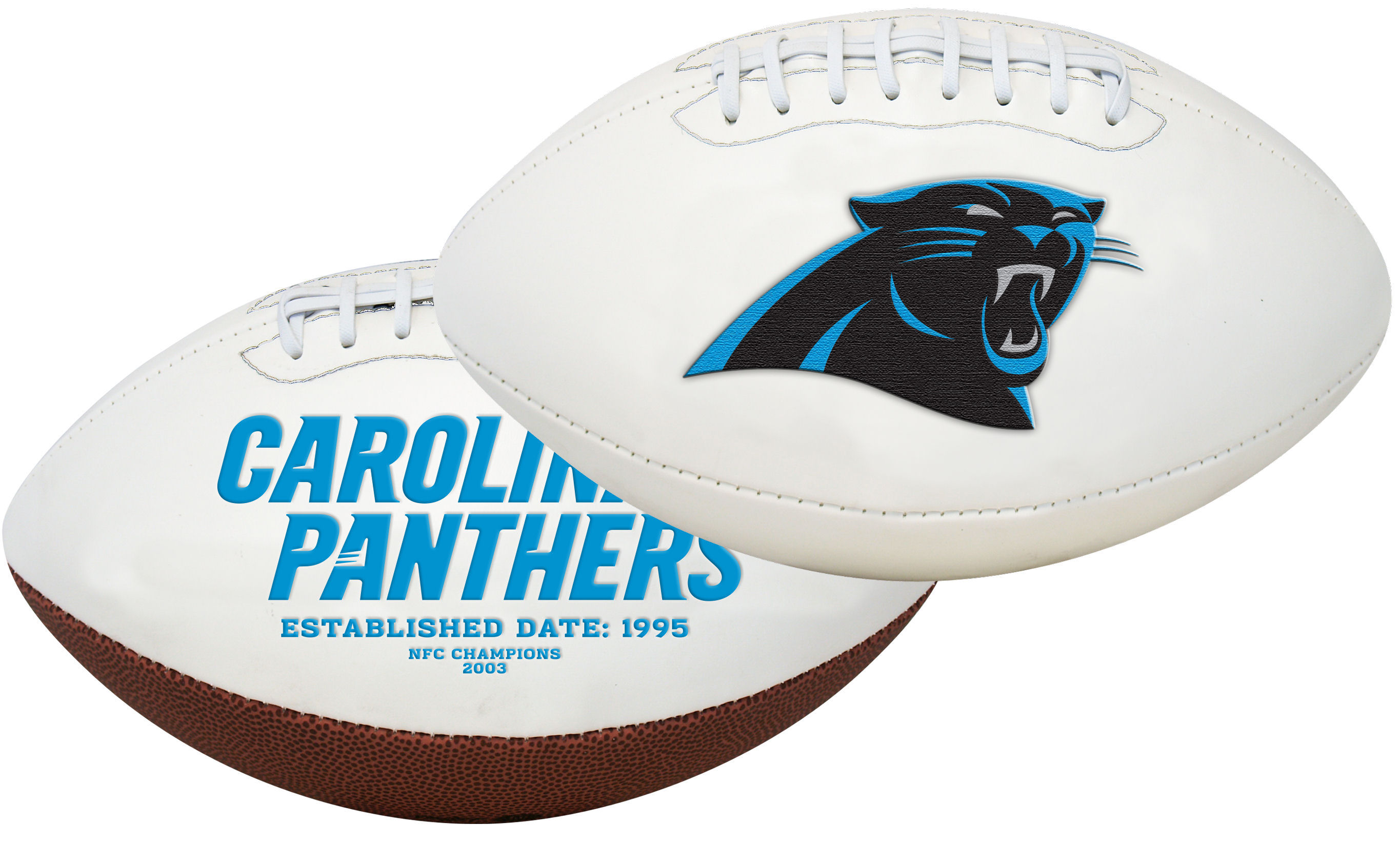 Carolina Panthers NFL Signature Series Full Size Football