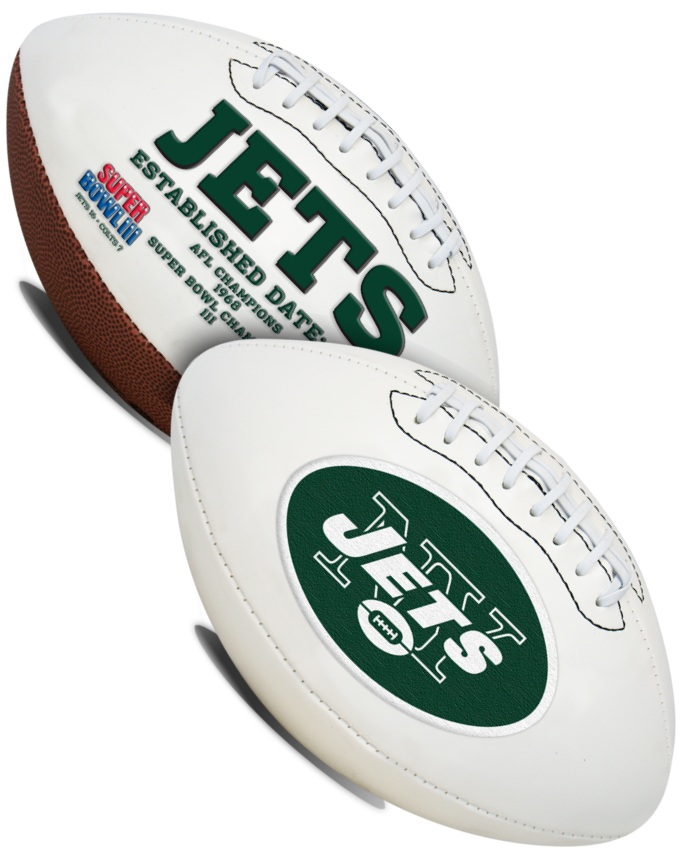 New York Jets NFL Signature Series Full Size Football