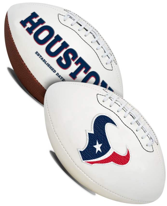 Houston Texans NFL Signature Series Full Size Football