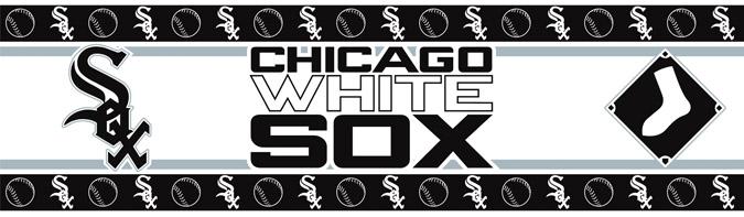 Chicago White Sox Wallpaper Border <B>7 Left</B>