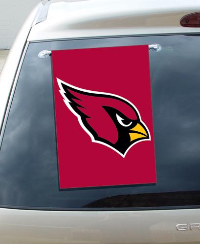 Arizona Cardinals Window Flag <B>BLOWOUT SALE</B>