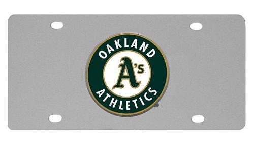 Oakland Athletics Logo License Plate