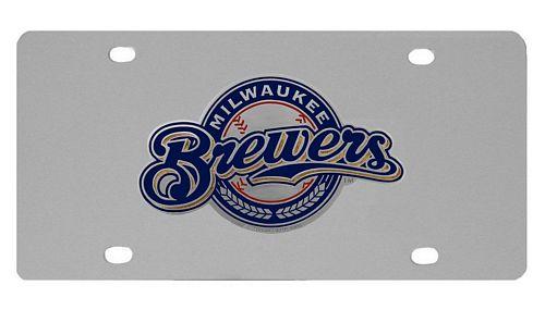 Milwaukee Brewers Logo License Plate