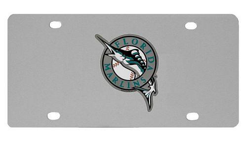 Florida Marlins Logo License Plate