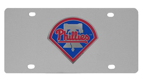 Philadelphia Phillies Logo License Plate