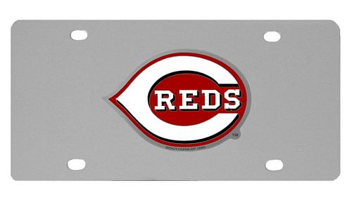 Cincinnati Reds Logo License Plate