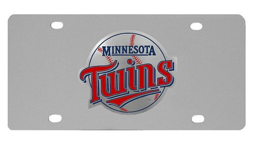Minnesota Twins Logo License Plate