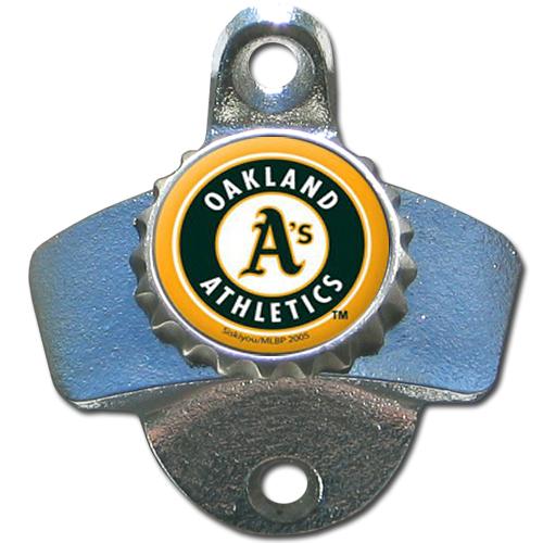 Oakland Athletics Wall Mounted Bottle Opener