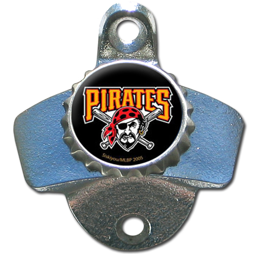 Pittsburgh Pirates Wall Mounted Bottle Opener