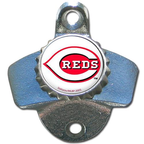 Cincinnati Reds Wall Mounted Bottle Opener