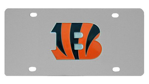Cincinnati Bengals Logo License Plate