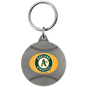 Oakland Athletics Key Chain