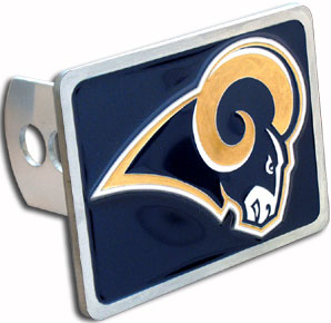 St. Louis Rams Hitch Cover
