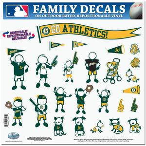 Oakland Athletics Window Decals