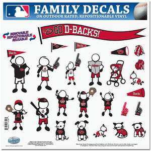 Arizona Diamondbacks Window Decals