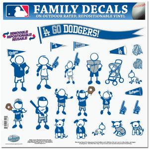 Los Angeles Dodgers Window Decals