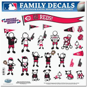 Cincinnati Reds Window Decals