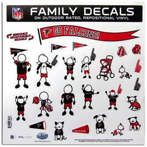Atlanta Falcons Window Decals