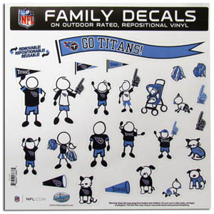 Tennessee Titans Window Decals