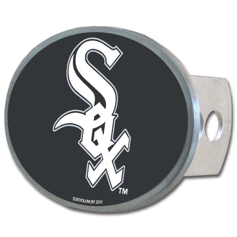 Chicago White Sox Oval Hitch Cover