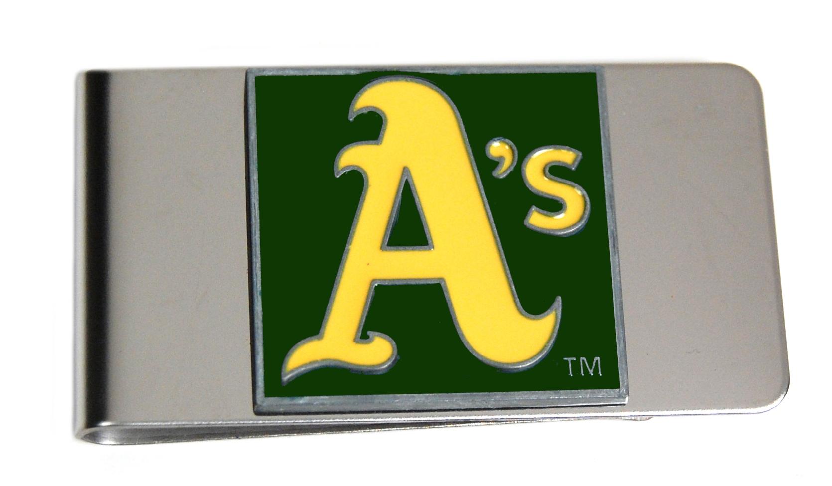 Oakland Athletics Money Clip
