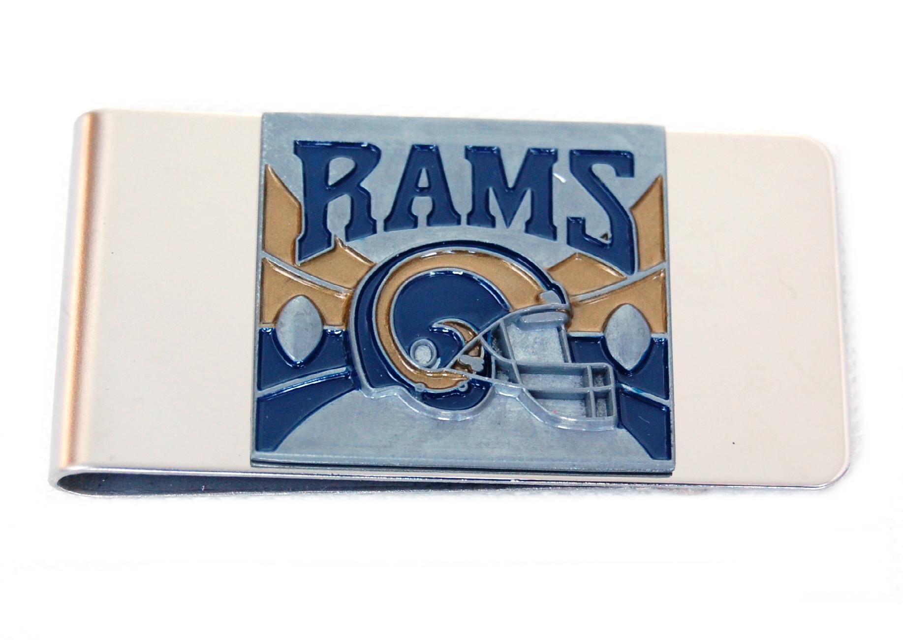 St. Louis Rams Money Clip